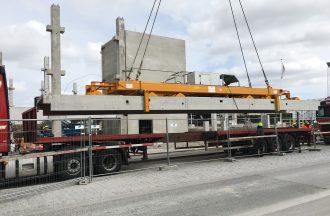 Transport af betonelementer
